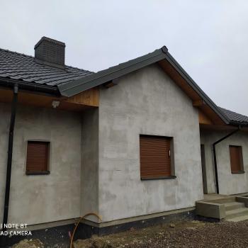 Montaż podbitki dachowej; 60m2
